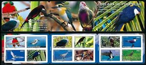 2010 POLYNESIE CARNET C916** Oiseaux Luxe 2010 French Polynesia Booklet Birds NH