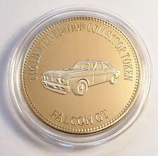 """FORD FALCON GT"" Muscle Car Series 1 0z HGE 999 24k Gold Coin/token LTD 2,500"