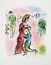 Ulysses Makes Himself Known The Odyessy 1989 Limited Edition Litho Marc Chagall