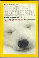 NATIONAL GEOGRAPHIC Magazine December 2000 Polar Bears Garrison Keillor