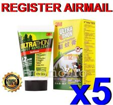 3M Ultrathon Mosquito Bug tick Repellent lotion water splashes sweat Resists x 5