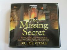 Audio Book CDs The Missing Secret - Dr. Joe Vitale (How to use law of attraction
