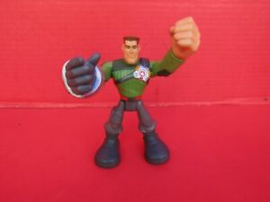 "ACTION FIGURE MAJOR POWERS 2002 Hasbro 6"" Star Squad Playskool Rescue Hero"