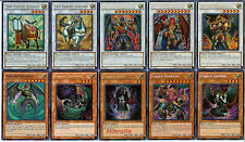 Yugioh Fabled Deck - 40 Cards + 8 Extra - Valkyrus Krus Unicore Ragin Leviathan