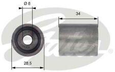 GATES Polea inversión/guía correa distribución Para SKODA SUPERB T42139