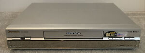 Panasonic Super Drive NV-HS830B-S VHS VCR Recorder Player SVHS Silver