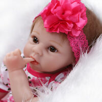 "Real Life Like 22"" Reborn Doll Baby Soft Silicone Newborn Dolls Kids Gift"