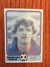 Monty Gum 1982 Coppa Del Mondo Calciatore Carta Altobelli Inter Italia Juventus