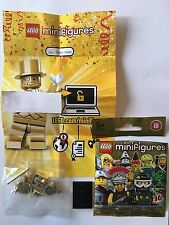 LEGO SERIES 10 MINIFIGURES MR GOLD NO.2806 OF 5000 LIMITED EDITION BRAND NEW
