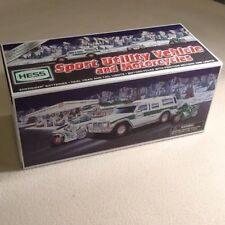 Hess Sport Utility Vehicle and Motorcycles 2004 Hess Toy Truck NIB