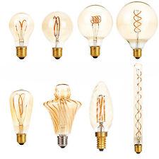 Dimmable E27 E14 LED Lights Bulbs Lamp Vintage Retro Filament Edison Antique RM
