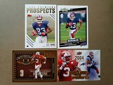 Lee Evans 2004 Score + Topps Premier prospects Rc + Inserts Wisconsin Badgers