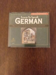Learn to Speak German: The Complete Interactive Learning Solution Version 7.0