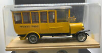 DIANO Bus magirus württ post 1919 DIANO 18.5cm On Stand In Perspex Case