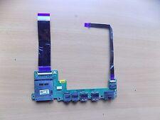 Toshiba Satelite Pro T130 USB Audio LAN Card Reader Board and Cables DA0BU3AB6F0
