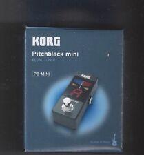 Korg Pitchblack Mini Pedal Tuner PB-Mini
