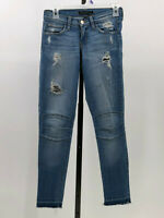 Flying Monkey released hem distressed ankle jeans size 24  IY19