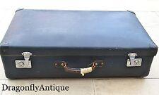 SUPERB Vintage 1950s Genuine Globetrotter Large Suitcase Trunk Travel Stickers