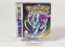 Nintendo Game Boy,Pokémon - Kristall Edition,OVP,CIB,speichern möglich