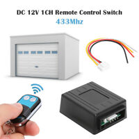 Wireless Remote Control Switch Car Relay Receiver Transmitter Electric Lock