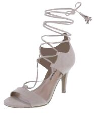 Christian Siriano Women's size 7.5 Nude / Beige Lisabeth Strappy High Heels