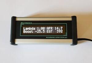 Zeitronix ZT2 + LCD Display, AFR Mess-System mit Lambda - Sonde