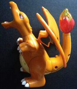 Charizard Hasbro Pokemon Figure 2000 Original Dragon Blasts Fire From Tail RARE