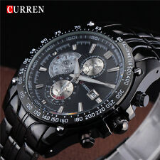 Brand New Black Army Military Quartz Watch Men Stainless Steel Relogio Masculino