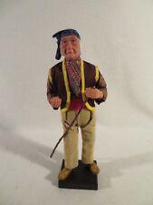 Santons De Provence Sylvette Amy Figurine Man Hobo With Walking Cane