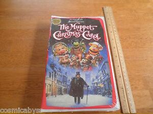The Muppet Christmas Carol 1993 VHS tape sealed MIP unused