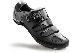 Specialized Ember RD Womens Black/Silver 38.5 Size 7.5 Boa Road Cycling Shoes