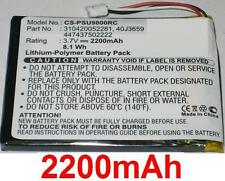 Batterie 2200mAh type 310420052281 40J3659 447437502222 Pour Philips RC9800I/17