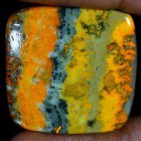 Pear Shape Natural Raindrop Azurite Cabochon Smooth K2 Jasper Cabochon K2 Granite Cabochon Healing gemstone  37 Carat 35x25x6 MM C-0619