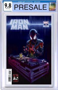 Iron Man 12 Rahzzah 🔥 Miles Morales Hip Hop Variant Spiderman DJ 1 CGC 9.8 NM/M