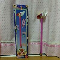 Card captor Sakura Stick from 1998 vintage rare pink toy collectibles from Japan