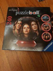 Ravensburger Twilight Saga Eclipse 240 PC 3D Puzzleball 115310 2010