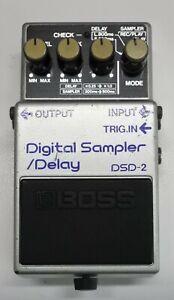 BOSS DSD-2 Digital Sampler Delay Guitar Effects Pedal MIJ 1985 #43 DHL or EMS