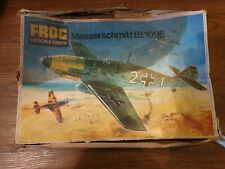 Vintage Frog 1/32 Scale Unbuilt Model  Aircraft Kit (F288) - Me BF 109 E