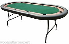 POKER TABLE Paper Plans EASY DIY PATTERNS Build Your Texas Holdem Casino Style