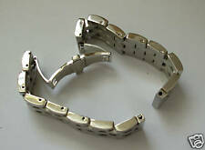 24mm SOLID POLISHED STAINLESS STEEL BAND,BRACELET COMPATIBLE WITH ANY WATCH