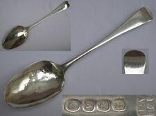 Antique George III Sterling Silver Serving Spoon Peter & William Bateman.
