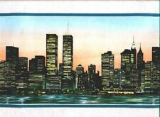 NEW YORK CITY, The Twin Towers Wallpaper  Border DHO8529