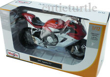 Maisto Mv Agusta F3 Bike Motorcycle 1:12 Red Silver 11093