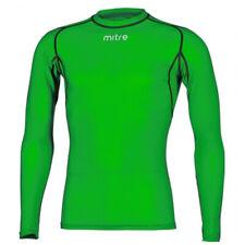 Mitre Neutron Base Layer Emerald Compression LS Top Size SM Mens Gym/sportswear