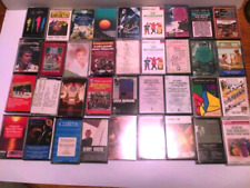 (36)Lot Cassette Tapes Mid Century Musical Star Show tunes Broadway Opera  More