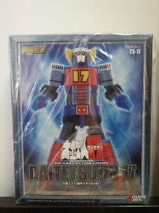 Action toys Daitetsujin 17 die cast TS-17 ONE EIGHT action figure