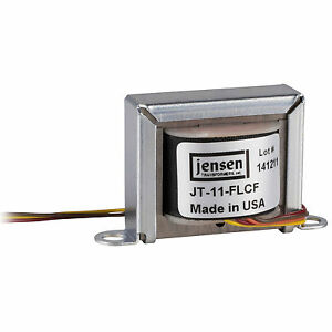 Jensen JT-11-FLCF Premium Line Output Transformer 1:1