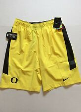 Nike Oregon Ducks Speed Vent Shorts Yellow 623062 Mens Size M