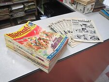 LOT DE 32 MAGAZINE REVUE BD HURRAH ANNEE 1956 1957 1958 + 9 SUPPLEMENTS *