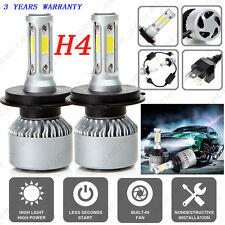 H4 9003 HB2 Hi/Lo Dual Bulb Car LED Headlight Kit 200W 20000LM 6000K Lamps UK